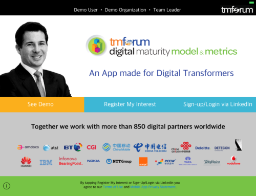 TMForum Digital Maturity Model & Metrics